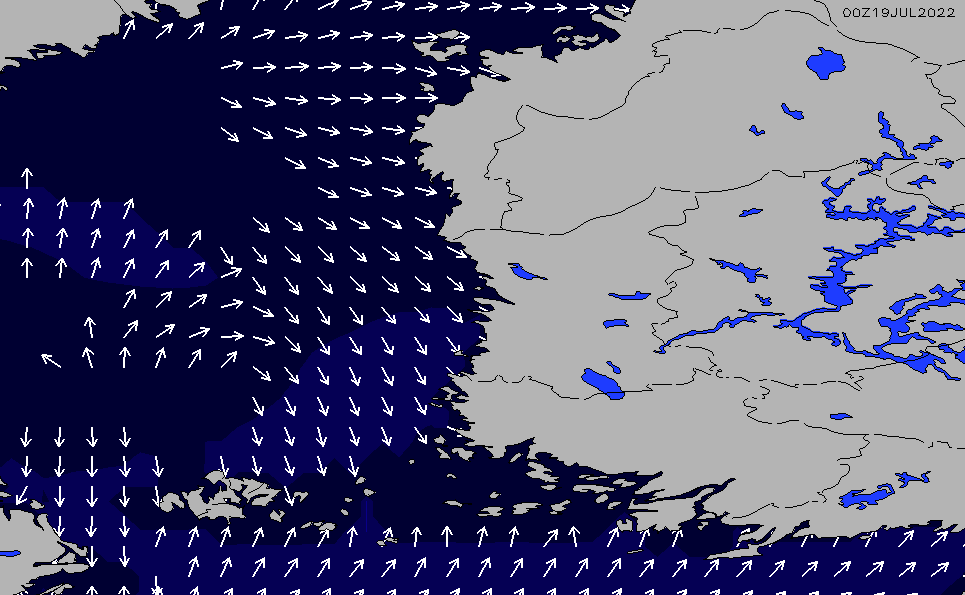 2021/3/6(土)8:00ポイントの波周期