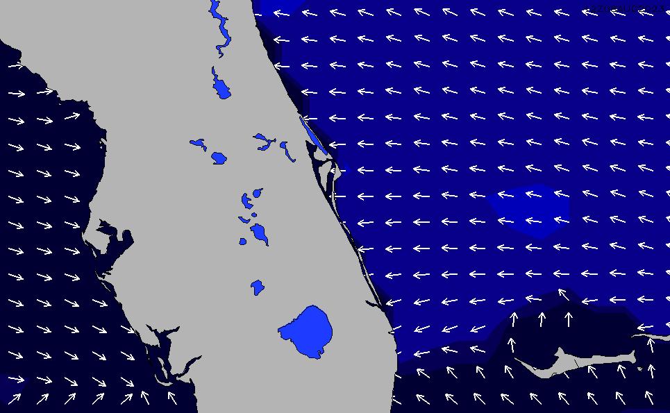 2021/3/1(月)5:00ポイントの波周期