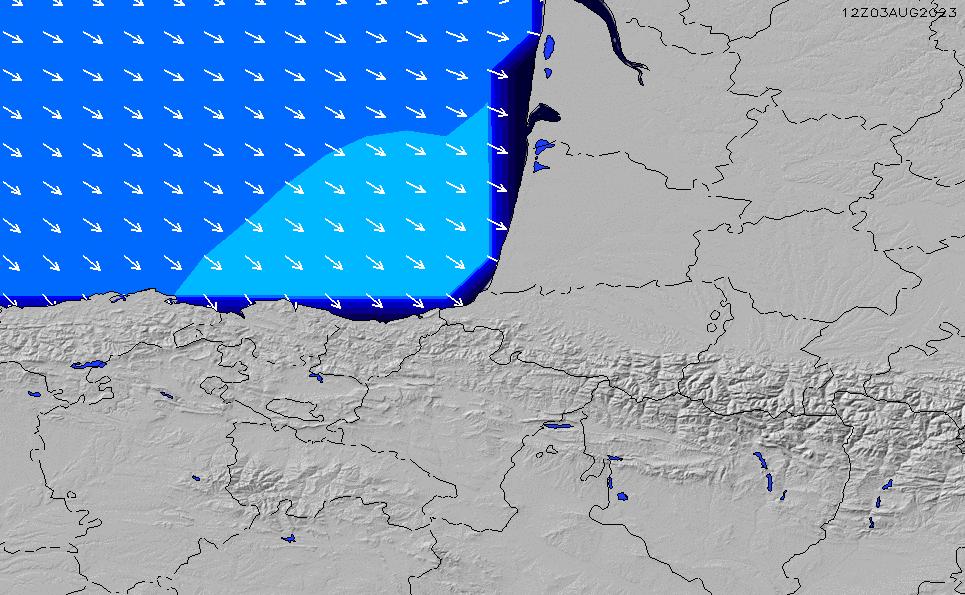 2021/5/19(水)14:00ポイントの波周期