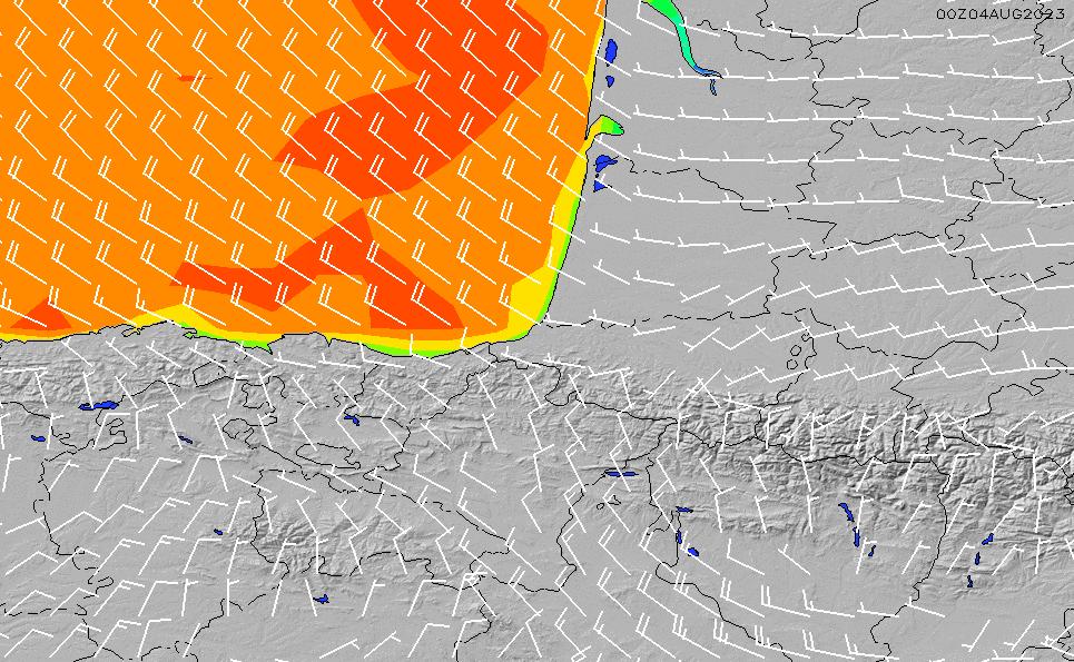 2020/9/27(日)2:00風速・風向
