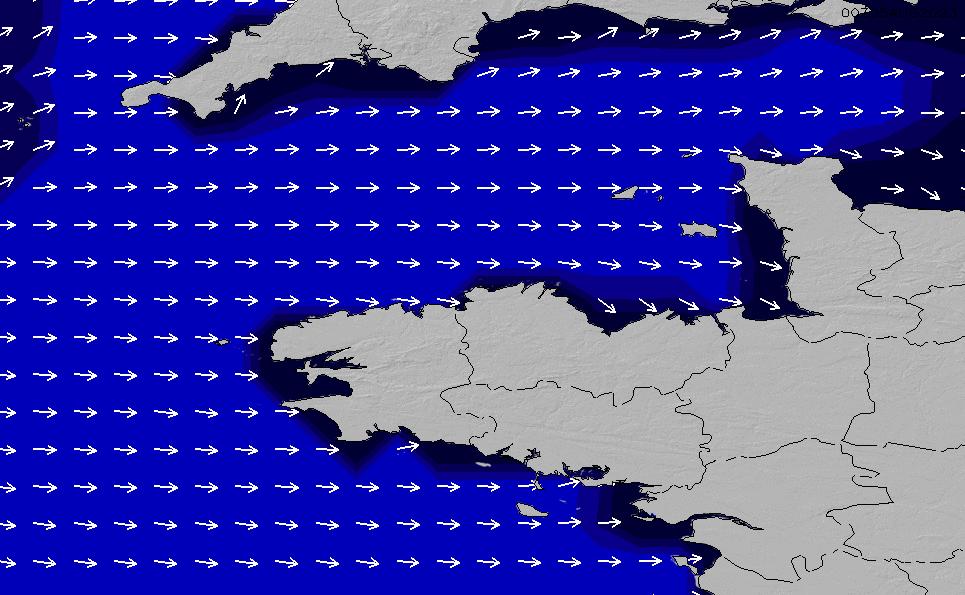 2021/2/28(日)19:00ポイントの波周期