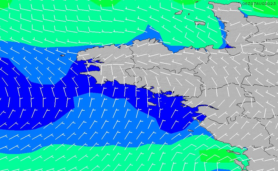 2020/4/2(木)2:00風速・風向