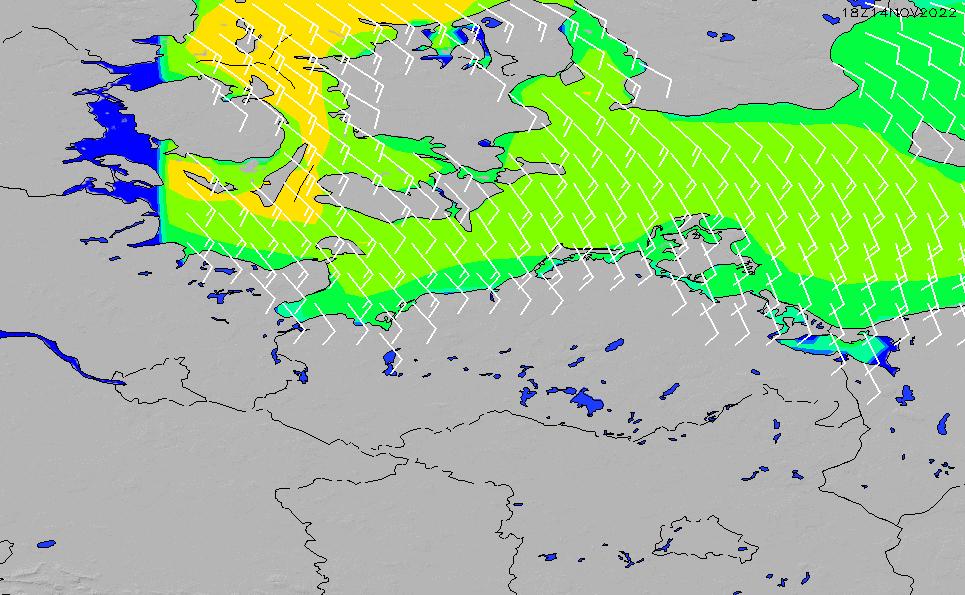 2021/5/9(日)8:00風速・風向