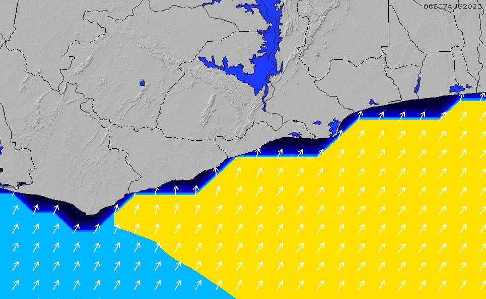 2020/7/15(水)6:00ポイントの波周期