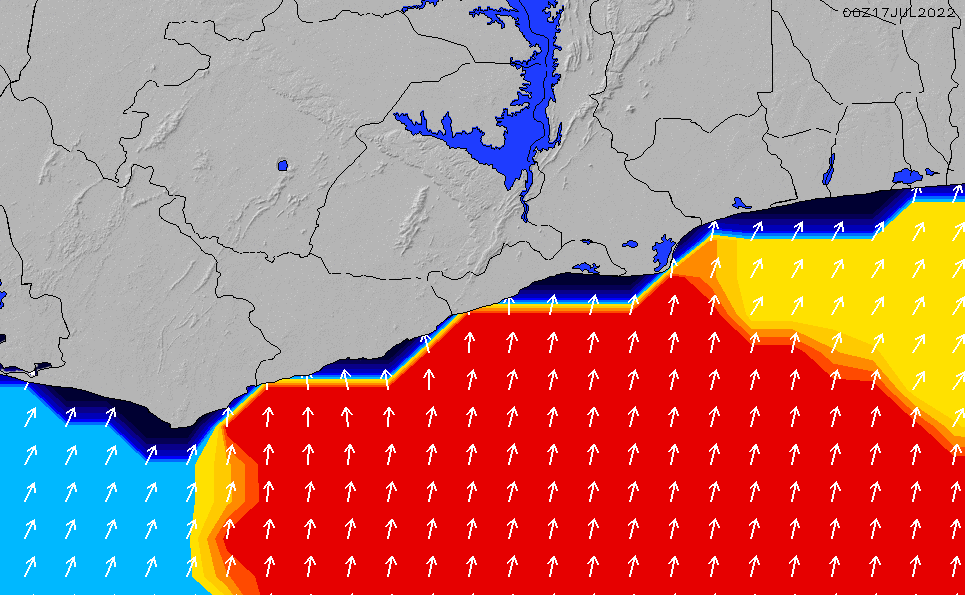 2020/7/16(木)12:00ポイントの波周期