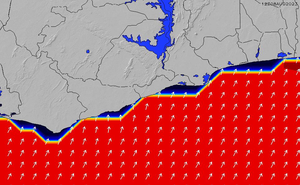 2021/3/8(月)6:00ポイントの波周期