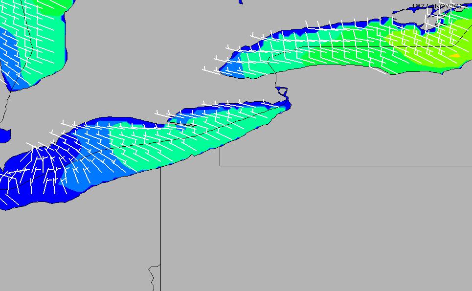 2021/2/28(日)11:00風速・風向