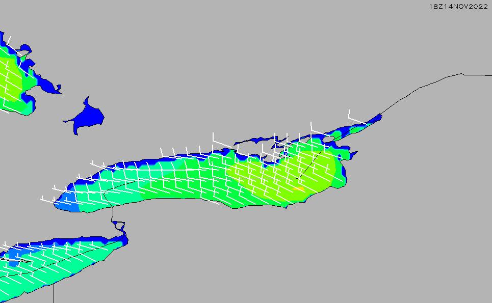 2021/3/2(火)23:00風速・風向