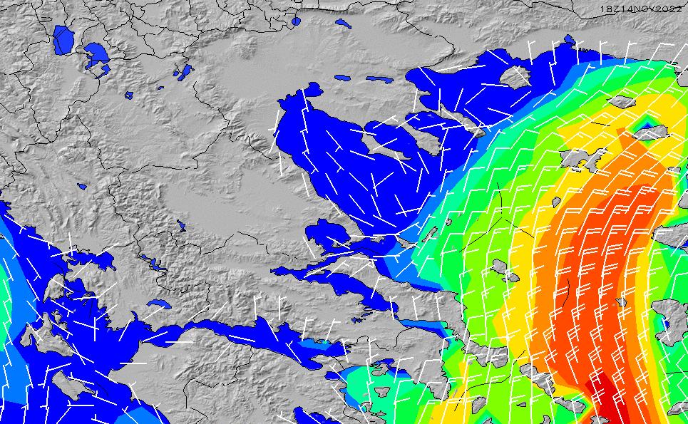2020/9/22(火)15:00風速・風向