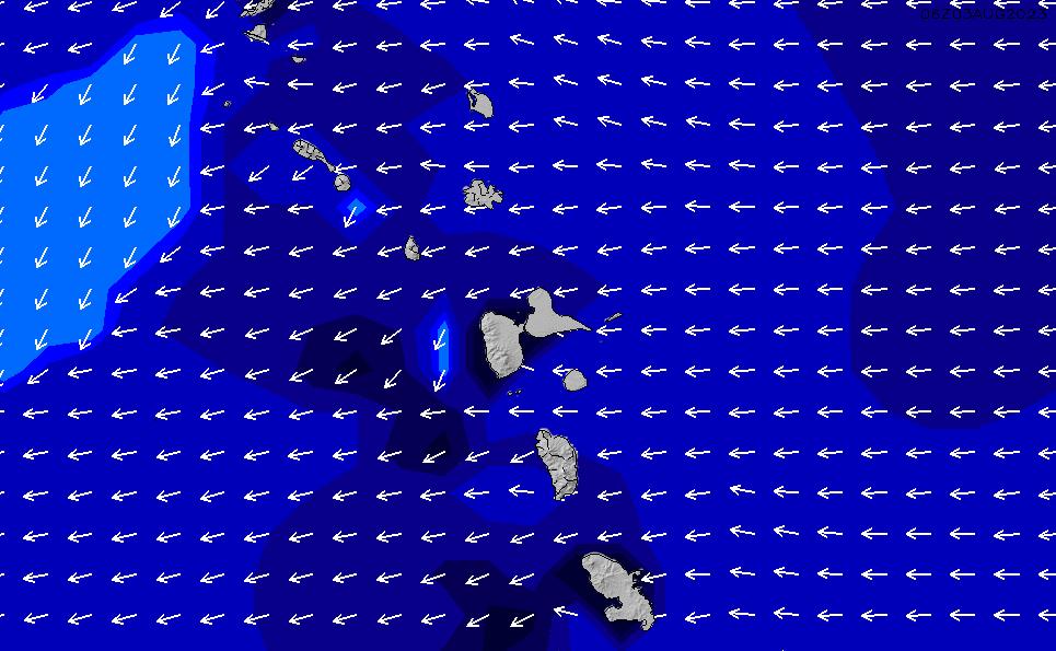 2021/3/8(月)10:00ポイントの波周期