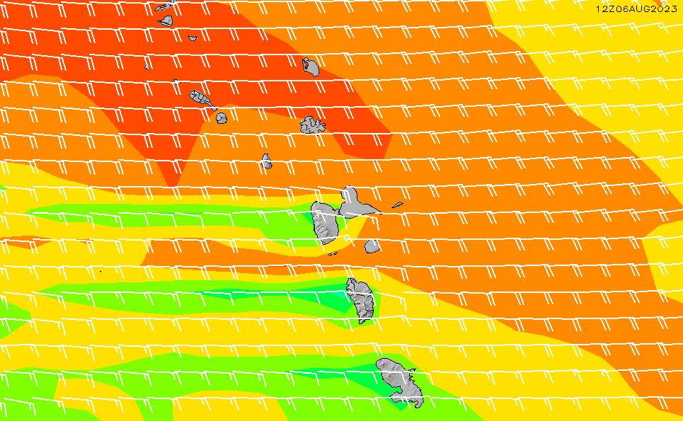 2020/9/30(水)4:00風速・風向