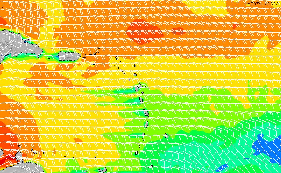 2021/9/18(土)16:00風速・風向