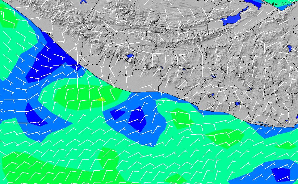 2020/9/23(水)6:00風速・風向