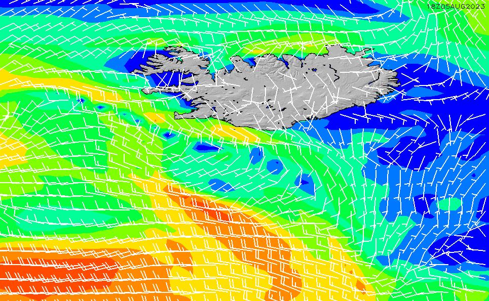 2020/9/19(土)6:00風速・風向