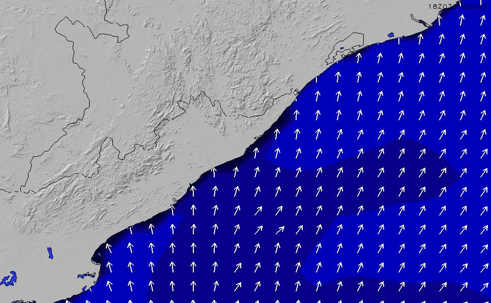 2020/9/21(月)17:00ポイントの波周期