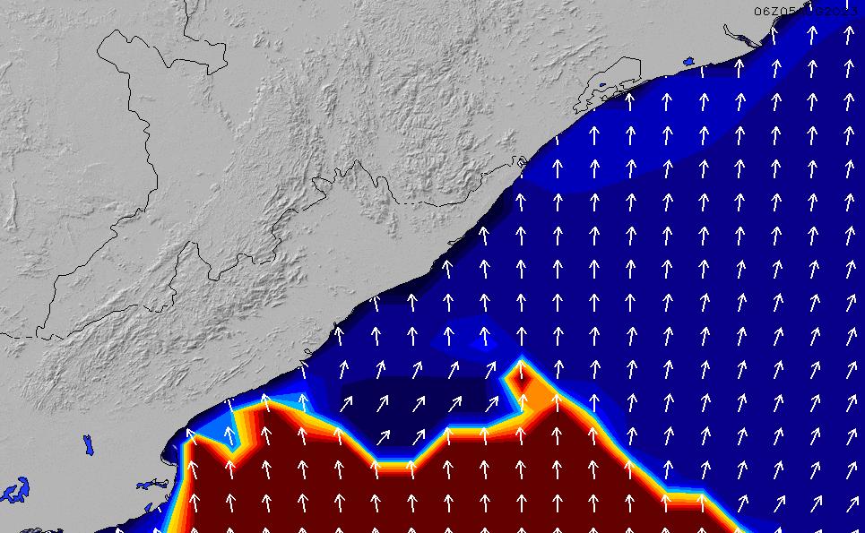 2020/9/20(日)11:00ポイントの波周期