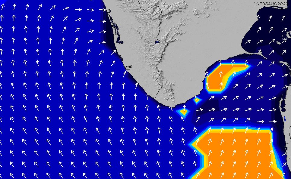 2021/5/19(水)17:00ポイントの波周期