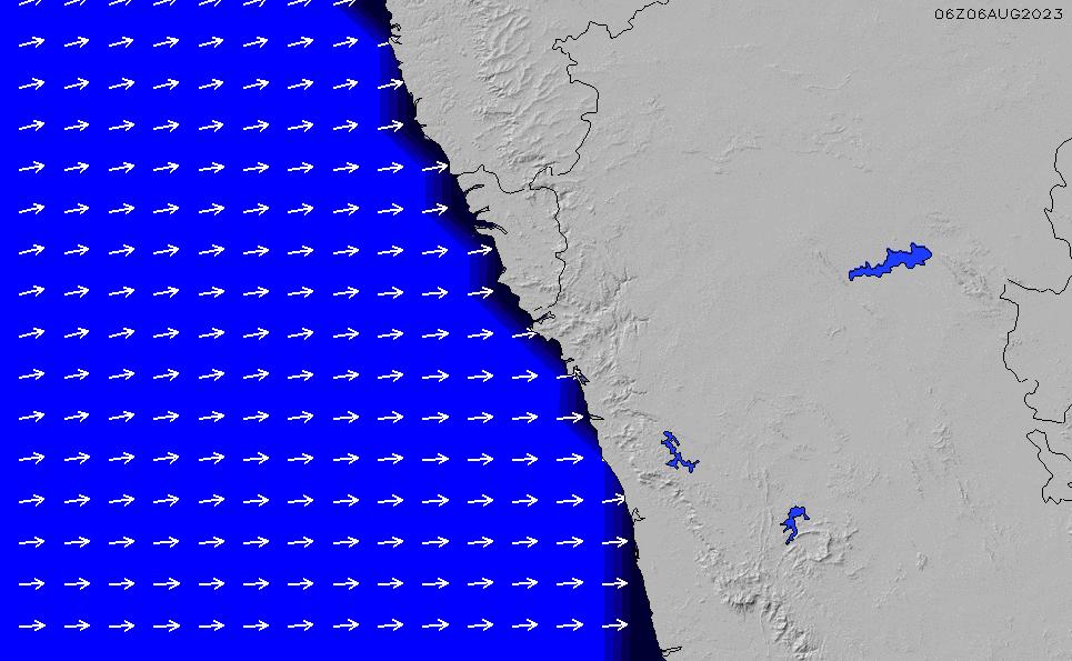 2020/9/23(水)5:00ポイントの波周期
