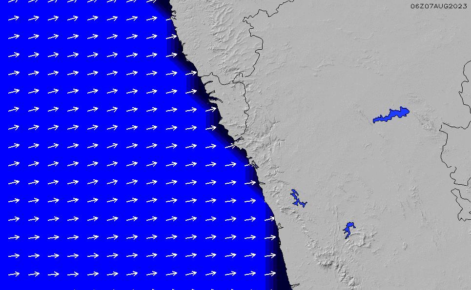 2020/9/28(月)5:00ポイントの波周期