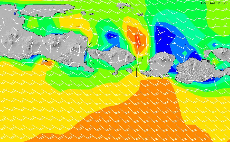 2021/3/3(水)20:00風速・風向