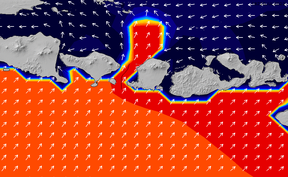 2020/9/25(金)8:00ポイントの波周期