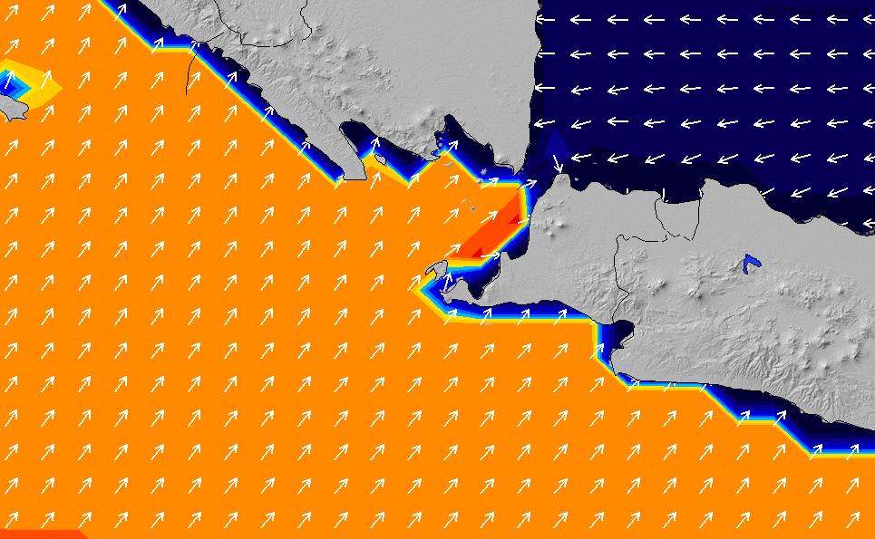 2021/2/28(日)7:00ポイントの波周期