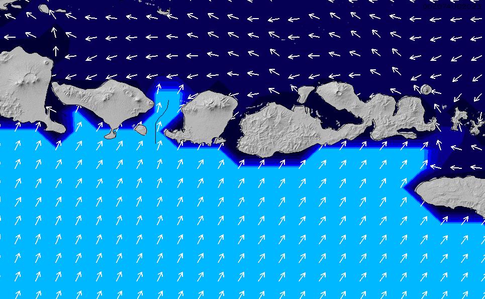 2020/7/15(水)14:00ポイントの波周期