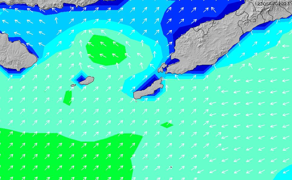 2021/5/17(月)2:00波高チャート