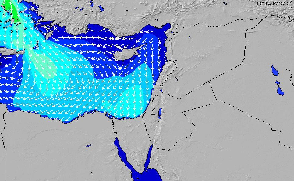2021/4/15(木)21:00波高チャート