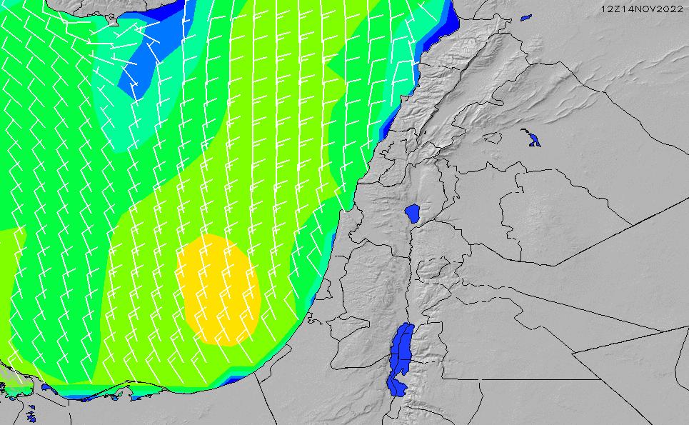 2021/10/19(火)9:00風速・風向