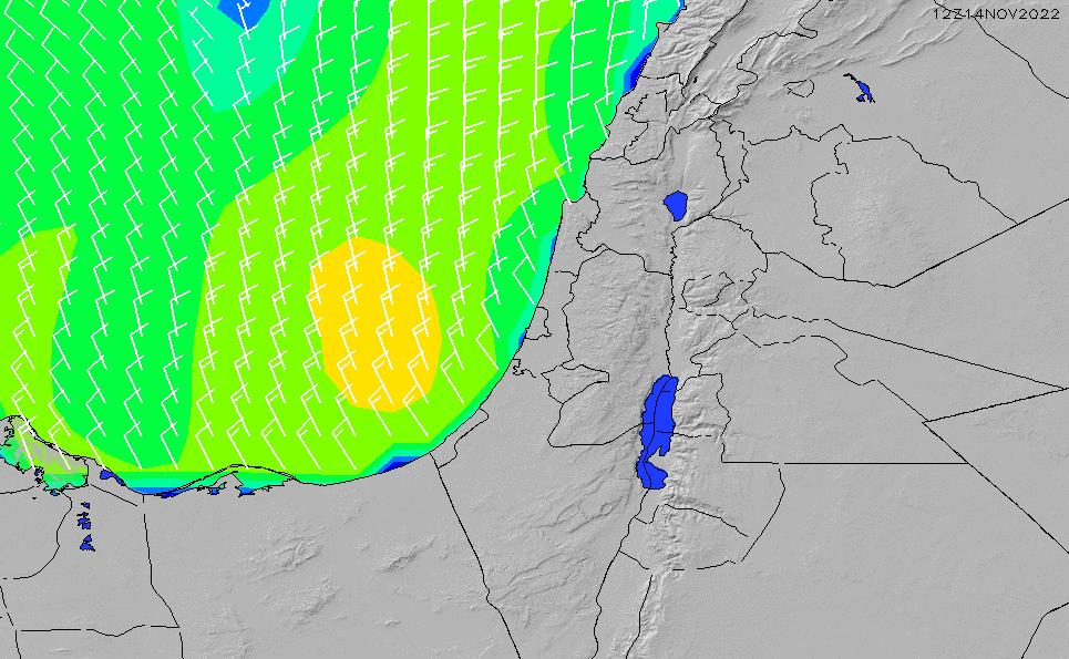 2020/9/23(水)3:00風速・風向