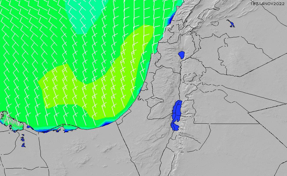 2020/5/31(日)15:00風速・風向
