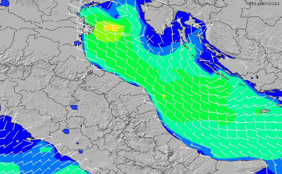 2020/5/31(日)8:00風速・風向