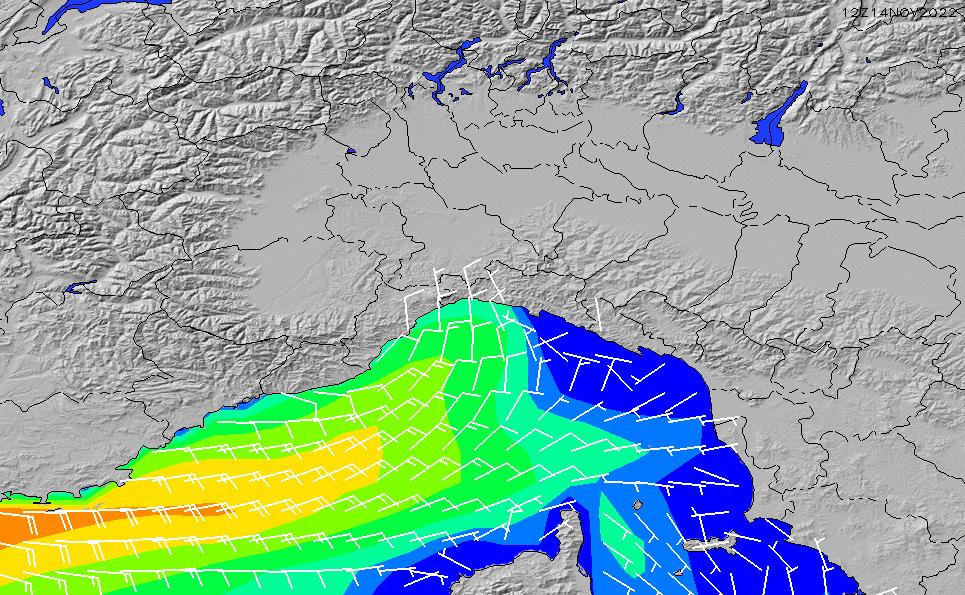 2021/2/26(金)1:00風速・風向