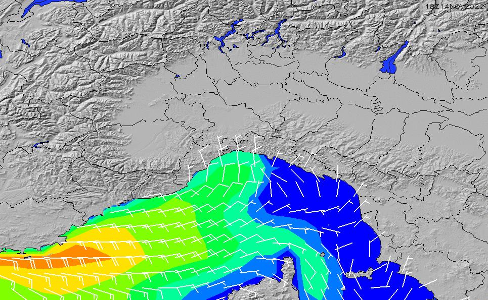 2020/10/26(月)19:00風速・風向