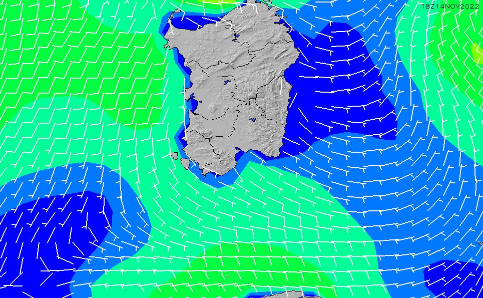 2021/3/6(土)19:00風速・風向