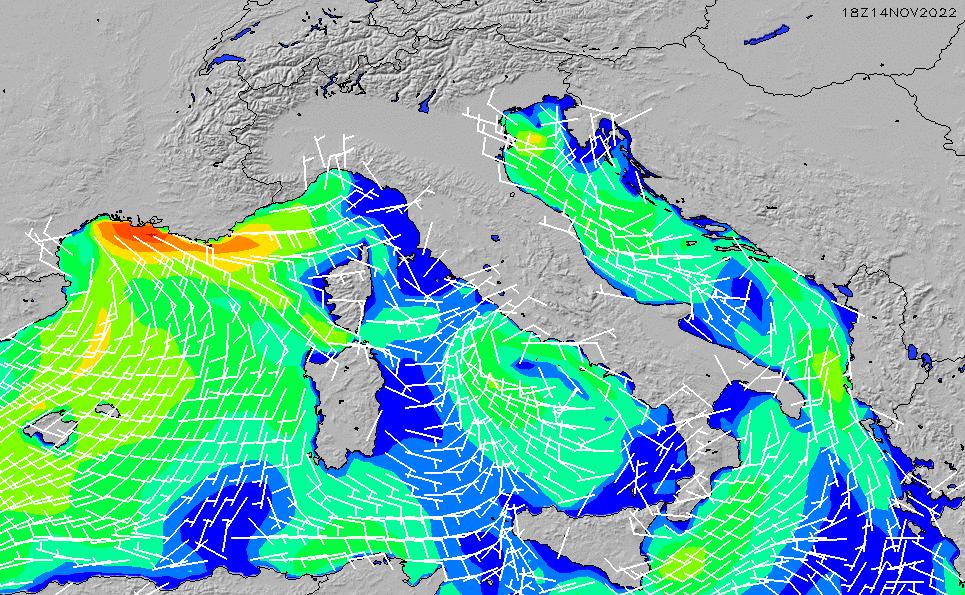 2021/5/14(金)20:00風速・風向