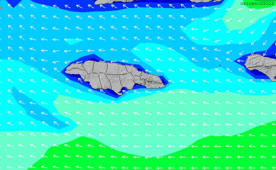2021/6/16(水)17:00波高チャート