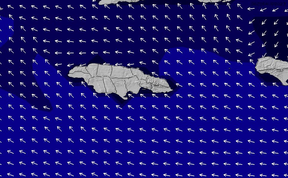 2021/6/16(水)17:00ポイントの波周期