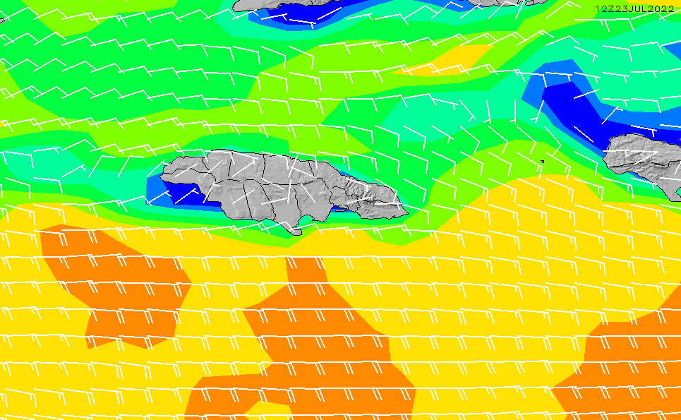 2021/6/16(水)17:00風速・風向