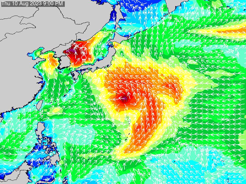 2019年9月26日(木)0:00の波浪画像