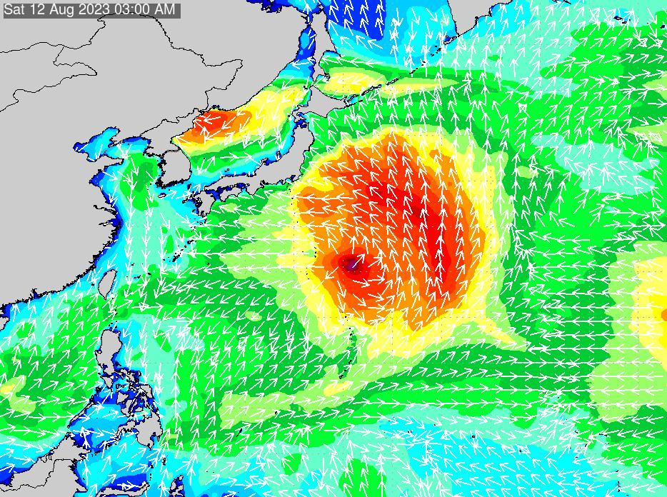 2019年9月26日(木)12:00の波浪画像