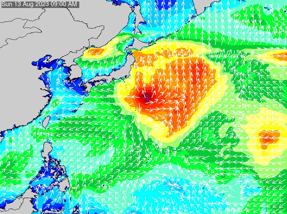 2019年6月26日(水)0:00の波浪画像