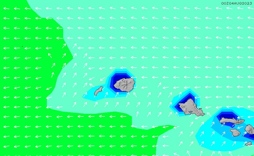 2020/7/14(火)4:00波高チャート