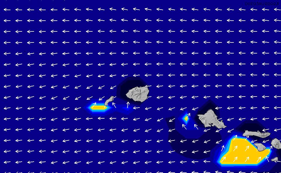 2020/9/23(水)22:00ポイントの波周期