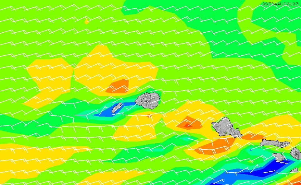 2020/7/14(火)4:00風速・風向