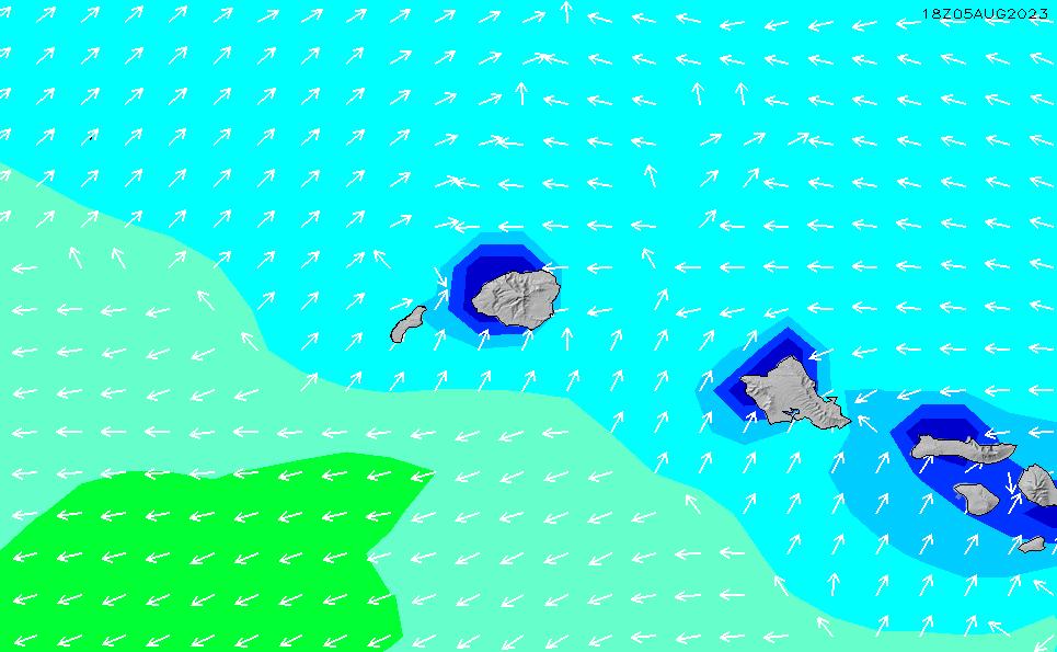 2021/7/28(水)4:00波高チャート