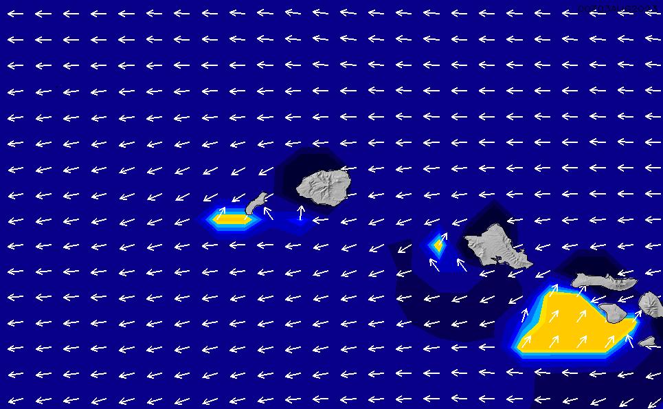 2021/5/9(日)10:00ポイントの波周期