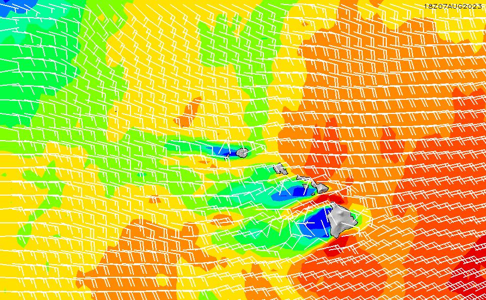 2020/9/23(水)22:00風速・風向