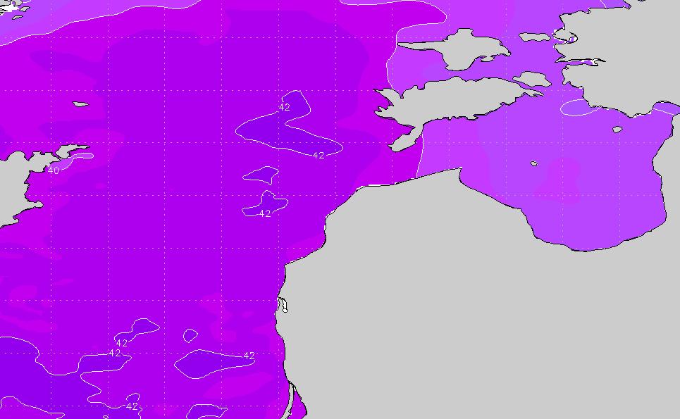 Latvia (Baltic Sea) Water Temp & Sea Surface Temperature Chart (SST ...
